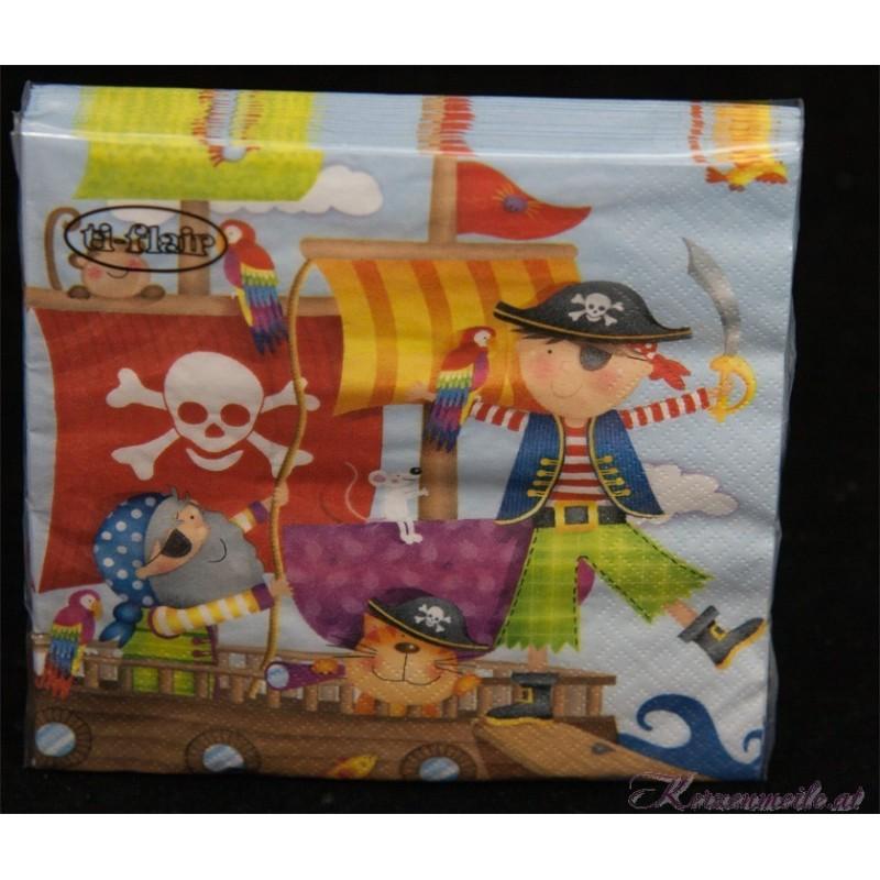 Serviette Pirat