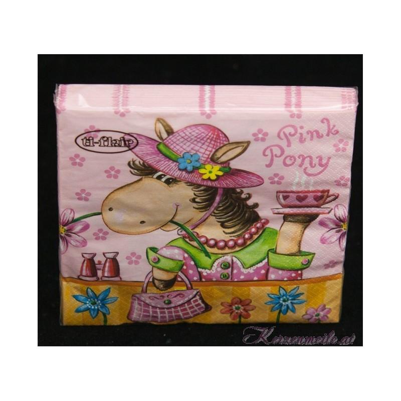 Serviette Pink Pony