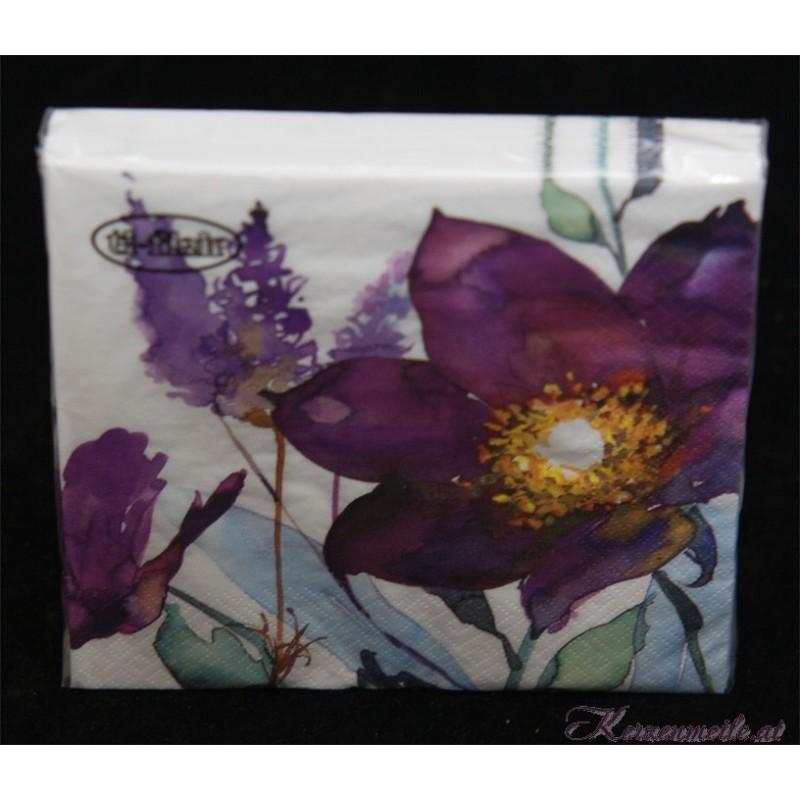 Servietten Lilac