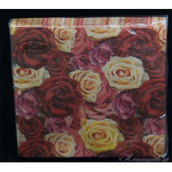 Serviette Roses of Romance
