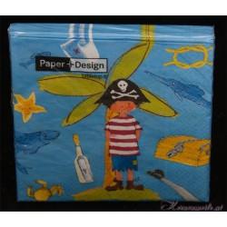 Serviette Kleiner Pirat