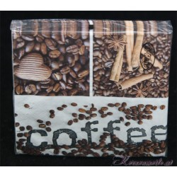 Serviette Coffee