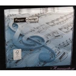 Serviette Musik
