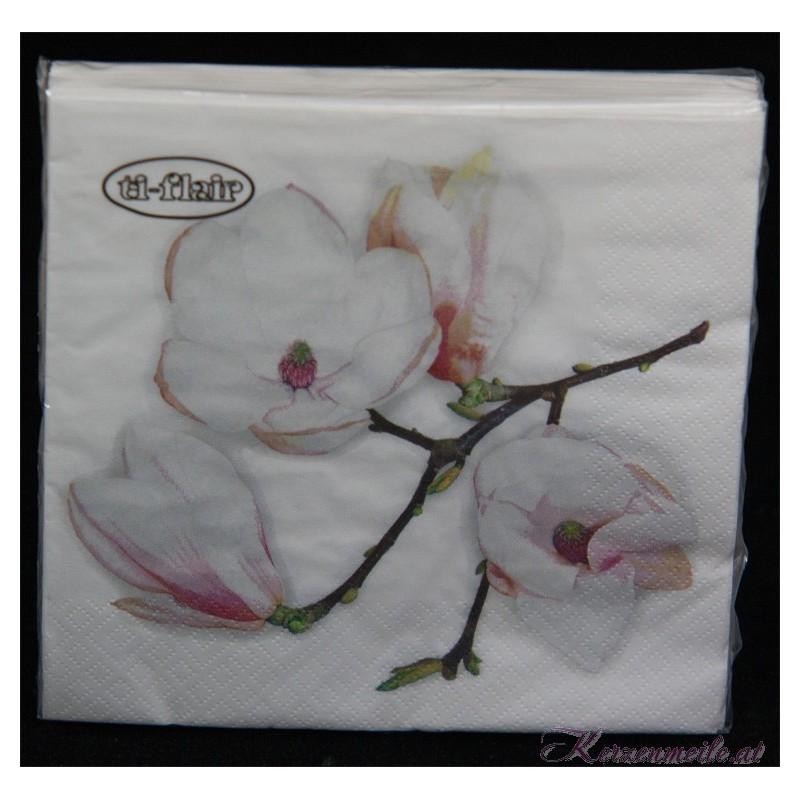 Serviette Orchidee