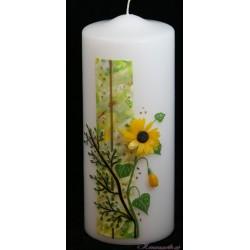 Trauerkerze Sunflower Trauerkerzen und Gedenkkerzen