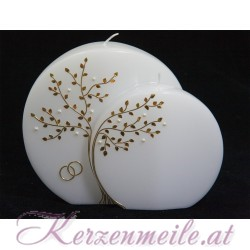Hochzeitskerze Perlenbaum