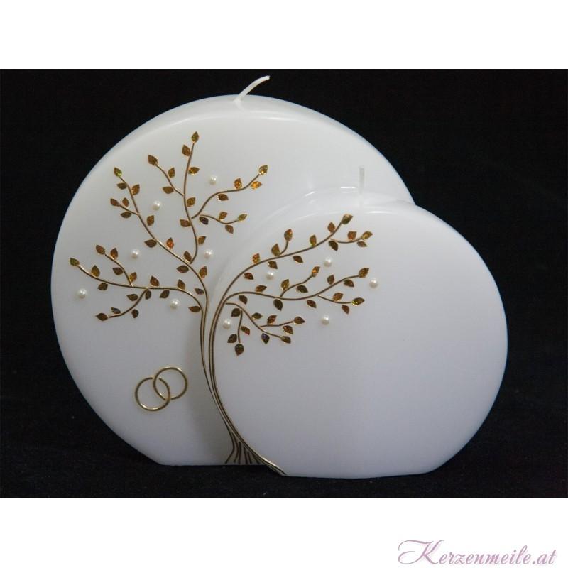 Hochzeitskerze Perlenbaum Hochzeitskerzen Premium