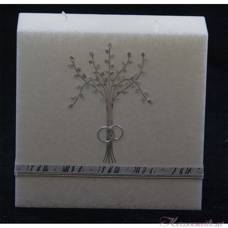 Hochzeitskerze Glamour Tree Hochzeitskerzen Premium