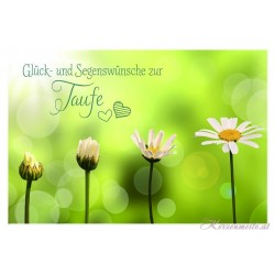 Billet Glück- und Segenswünsche
