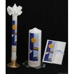 Kerzenset Lebensweg Taufkerzensets