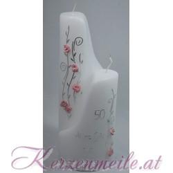 Geburtstagskerze Roses