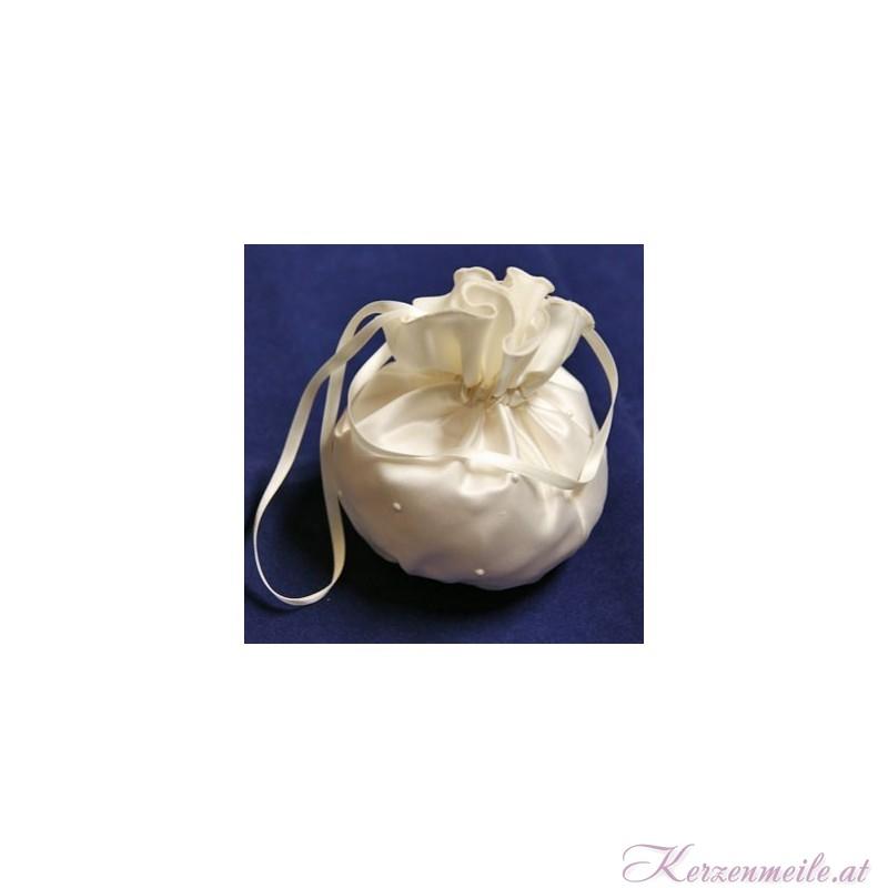 Brautbeutel Perle creme Brauttaschen