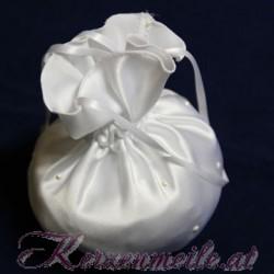 Brautbeutel Perle weiss Brauttaschen