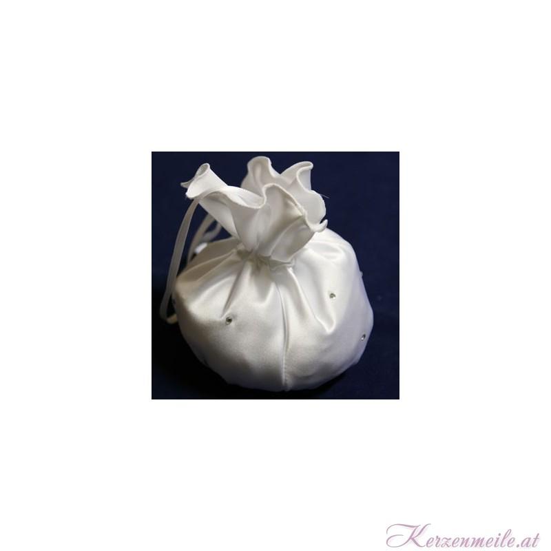 Brautbeutel Kristall weiss Brauttaschen
