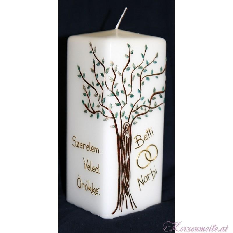 Hochzeitskerze Baum Hochzeitskerzen-exklusiv