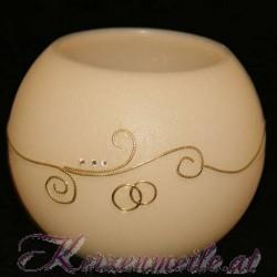 Hochzeitskerze Eternal Flame Hochzeitskerzen mit Teelicht