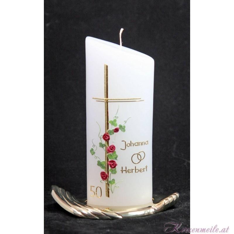 Hochzeitskerze Fidelidad Hochzeitskerzen-klassisch elegant