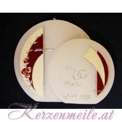 Hochzeitskerze Concerto Rose