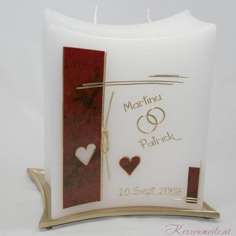 Hochzeitskerze Port Love 4 Hochzeitskerzen-modern