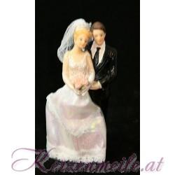 Tortenfigur Brautpaar Rock 2