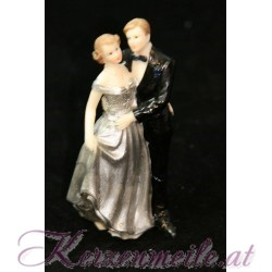 Tortenfigur Brautpaar Silberne Hochzeit 4
