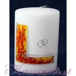 Hochzeitskerze Fire