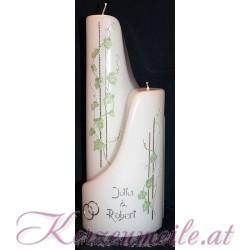 Hochzeitskerze Ivy