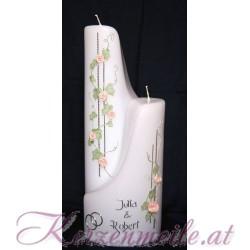 Hochzeitskerze Ivy Rose 1