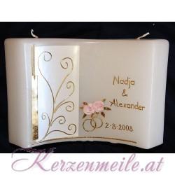 Hochzeitskerze Allegro 2