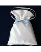 Taufbeutel für die Verpackung von kleinen Taufgeschenken.